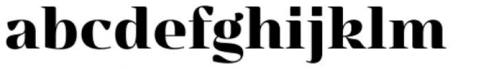 Ounce Headline Bold Font LOWERCASE