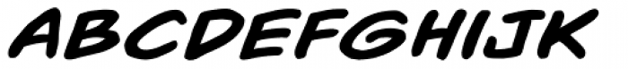 Out Of Line BB Bold Italic Font LOWERCASE