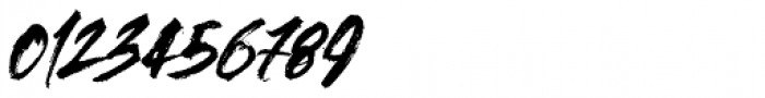 Outback Italic Font OTHER CHARS