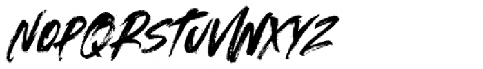 Outback Italic Font LOWERCASE
