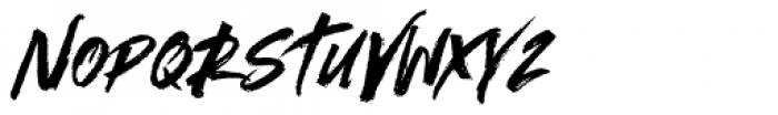Outback Regular Font UPPERCASE