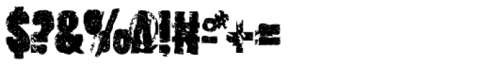 Outcast IV Font OTHER CHARS