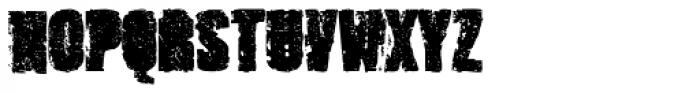 Outcast IV Font UPPERCASE