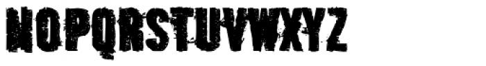 Outcast IV Font LOWERCASE