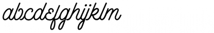 Outfitter Script Font LOWERCASE