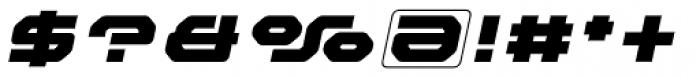 Outlander Nova Black Italic Font OTHER CHARS
