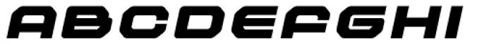 Outlander Nova Black Italic Font UPPERCASE