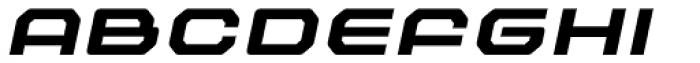 Outlander Nova Bold Italic Font UPPERCASE