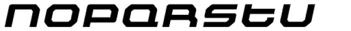 Outlander Nova Bold Italic Font LOWERCASE