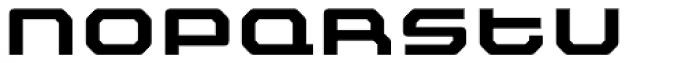 Outlander Nova Bold Font LOWERCASE
