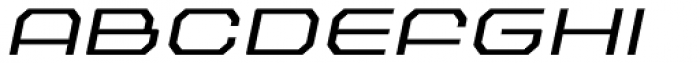 Outlander Nova Light Italic Font UPPERCASE