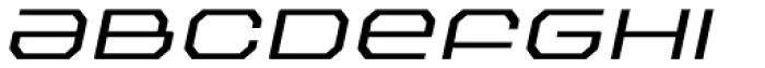 Outlander Nova Light Italic Font LOWERCASE