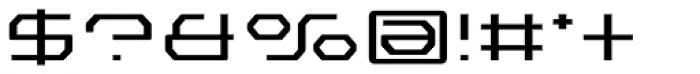 Outlander Nova Light Font OTHER CHARS