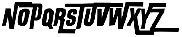 Outlaw Customized Font UPPERCASE