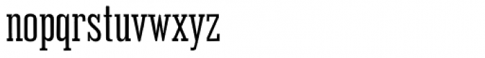 Outlaw Regular Font LOWERCASE