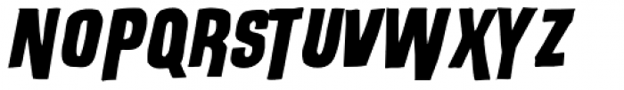 Outlaw Stock Font UPPERCASE