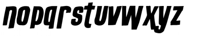 Outlaw Stock Font LOWERCASE