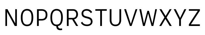 Output Sans Variable Font UPPERCASE