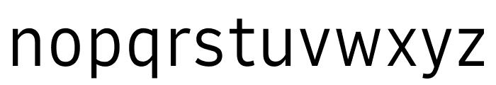 Output Sans Variable Font LOWERCASE