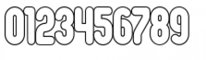 Oval Single Light Font OTHER CHARS