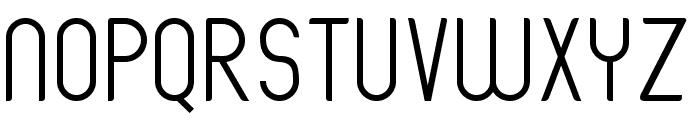 Oval Track Regular Font UPPERCASE