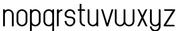 Oval Track Regular Font LOWERCASE