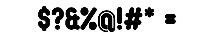OvalSingle Font OTHER CHARS