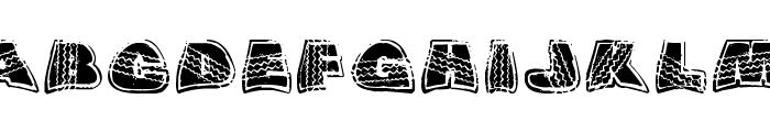 OverRide DSG Font UPPERCASE
