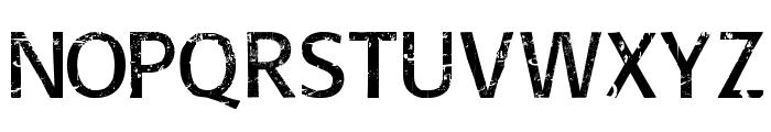 Overhaul Font UPPERCASE