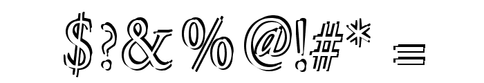 Overlapserif Font OTHER CHARS