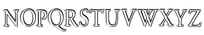 Overlapserif Font UPPERCASE