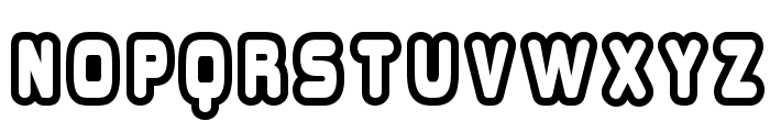 Overload Burn Font LOWERCASE