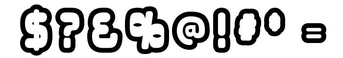 OverloadBurn-Regular Font OTHER CHARS