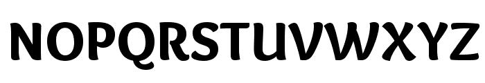 Overlock-Black Font UPPERCASE