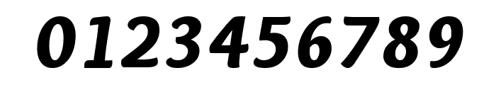 Overlock-BlackItalic Font OTHER CHARS