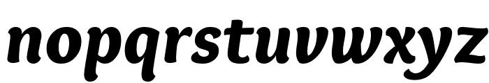 Overlock-BlackItalic Font LOWERCASE