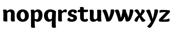 Overlock-Black Font LOWERCASE