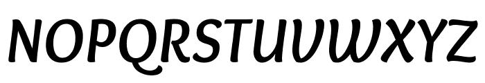 Overlock Bold Italic Font UPPERCASE