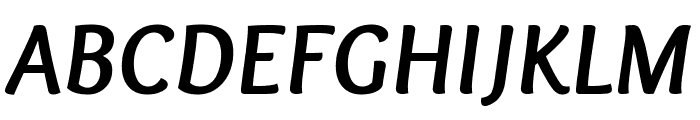 Overlock-BoldItalic Font UPPERCASE