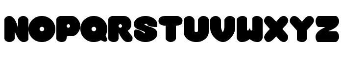 Overmuch Regular Font UPPERCASE