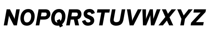 Overpass Black Italic Font UPPERCASE