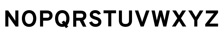 Overpass-Bold Font UPPERCASE