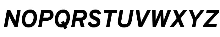 Overpass ExtraBold Italic Font UPPERCASE