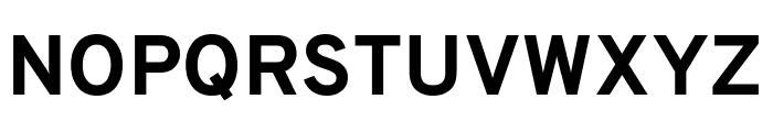 Overpass ExtraBold Font UPPERCASE