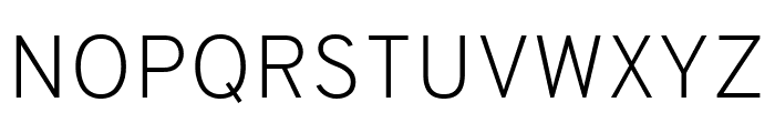 Overpass ExtraLight Font UPPERCASE