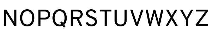 Overpass Regular Font UPPERCASE