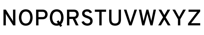 Overpass SemiBold Font UPPERCASE