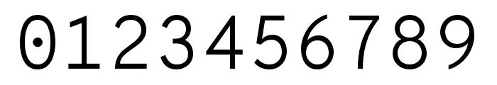 OverpassMono-Light Font OTHER CHARS