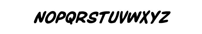 Overstreet Bible Bold Italic Font UPPERCASE