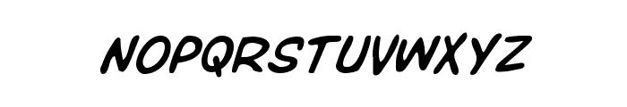 Overstreet Bible Italic Font UPPERCASE